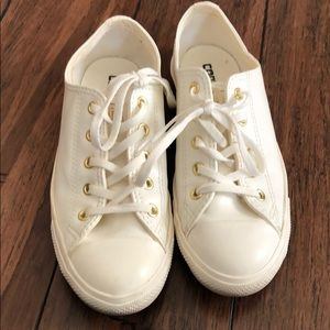 Women's converse Leather sneakers